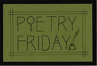 Poetry Friday is here - with AWESOME news! (1/3)