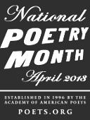 Natl Poetry Month badge