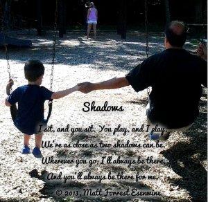 Shadows - poem & pic