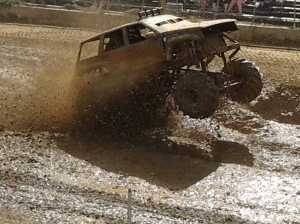 Fair - mud race