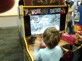 Grey - Chuck E Cheese