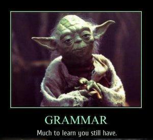 Grammar-Yoda